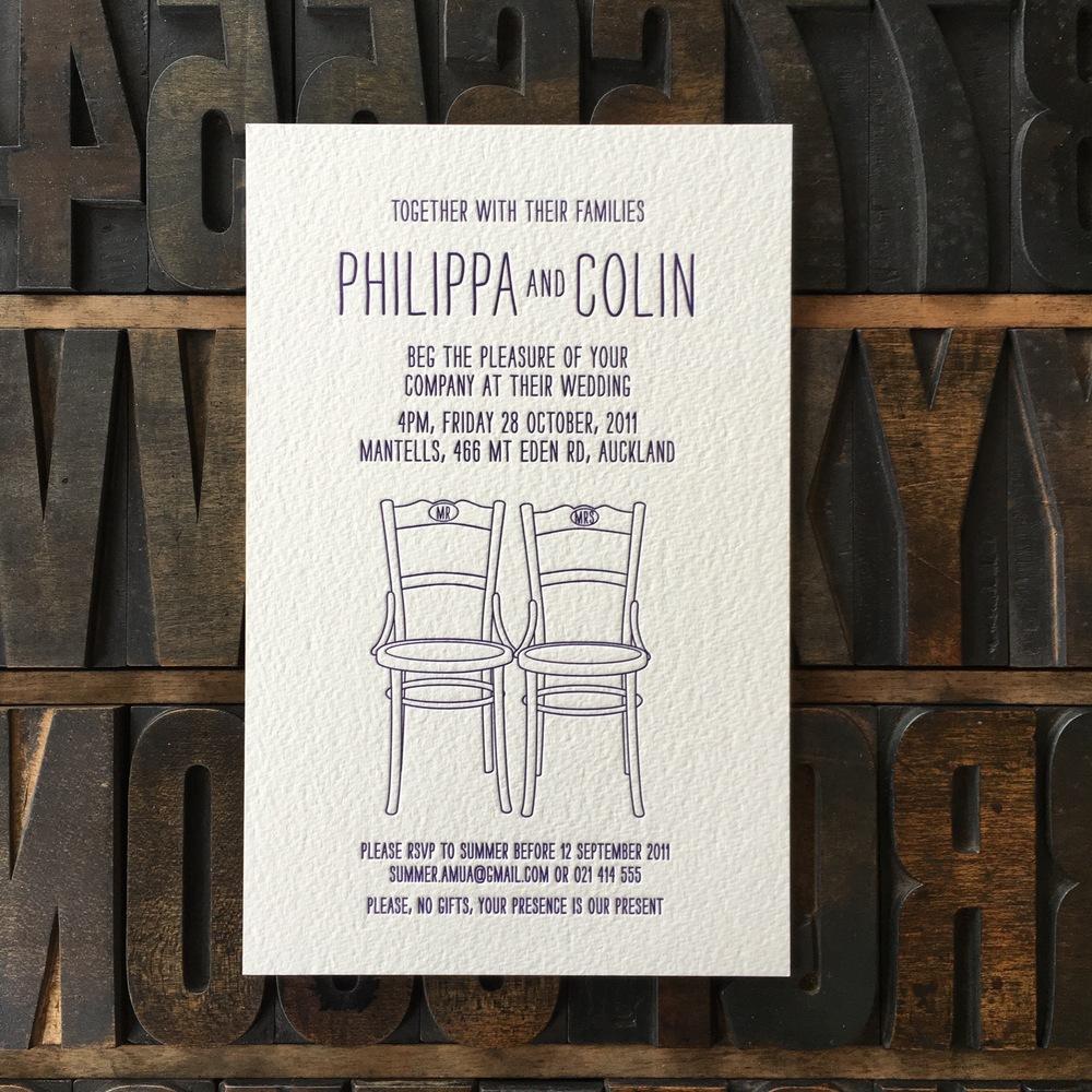 Philippa & Colin
