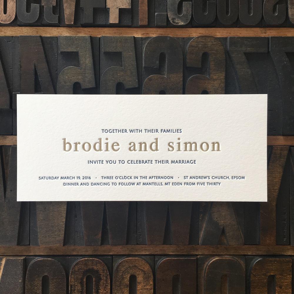 Brodie & Simon