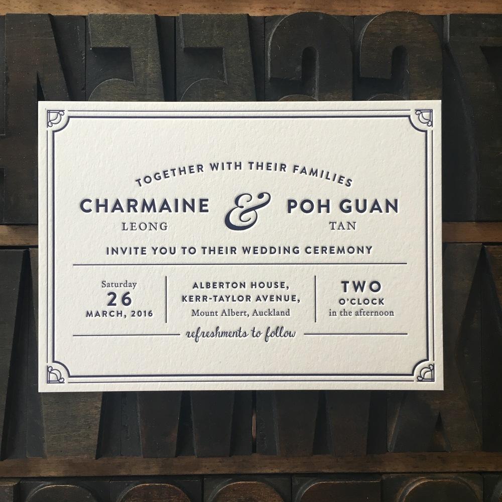 Charmaine & Poh