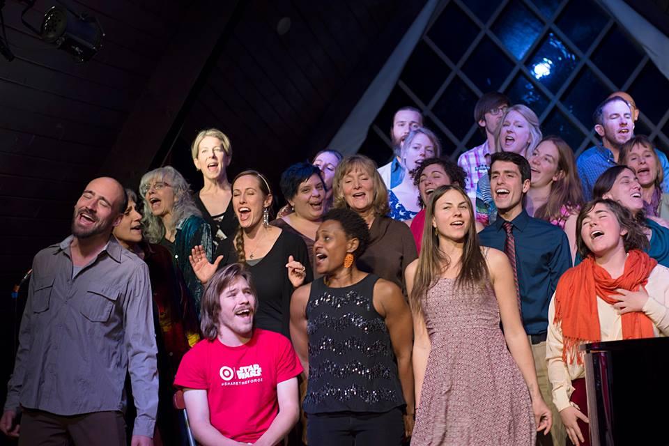Mosaic Gospel Choir at Wesley Chapel.  Photo by Nick Masson.