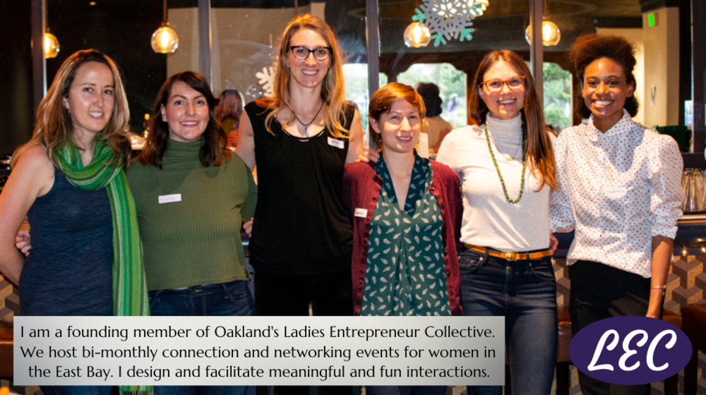 Sarah Oswald, Lady Entrepreneur Collective, InCahoots