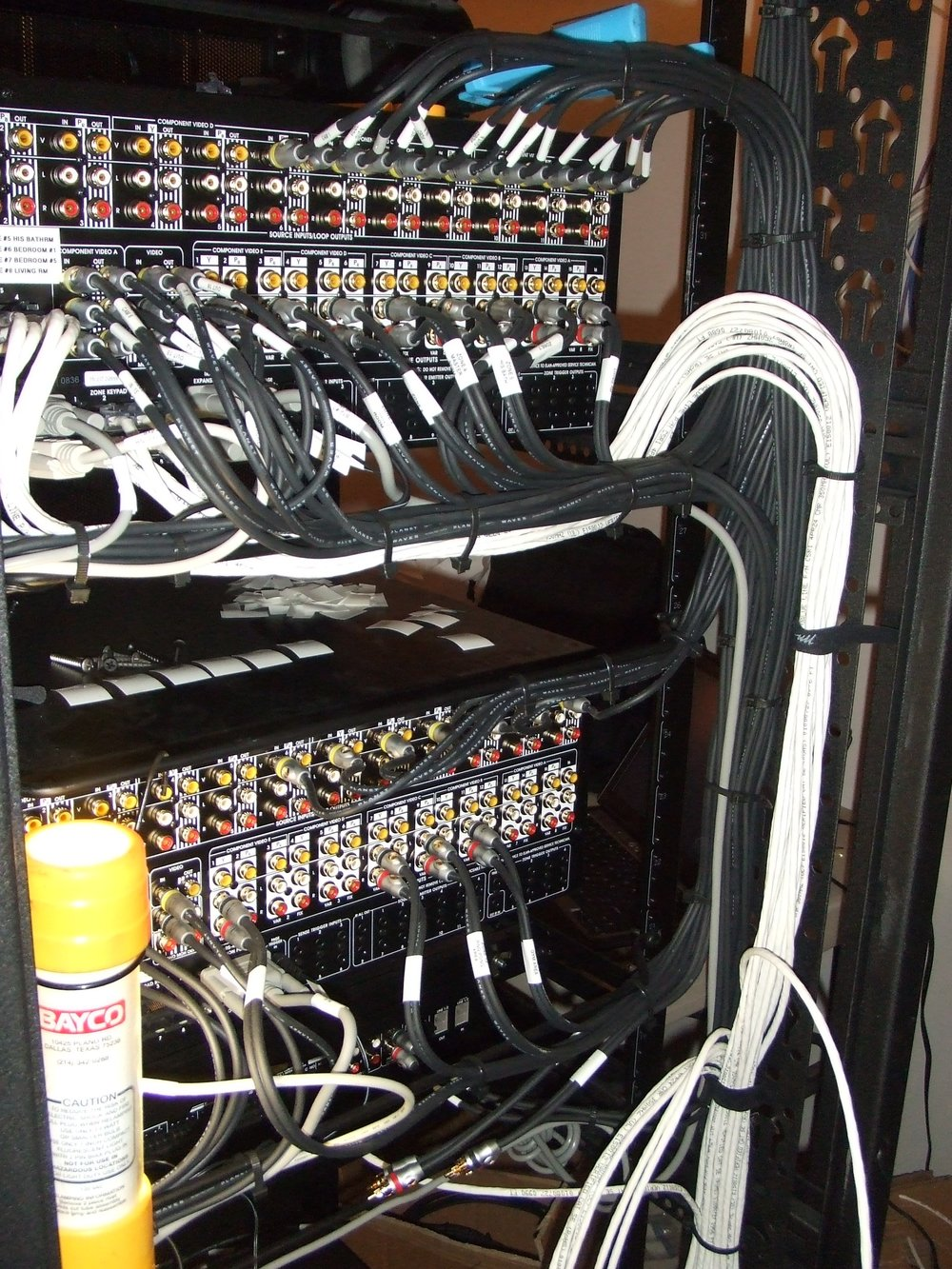 Equipment Room Rlg Design Inc To House Wiring 01