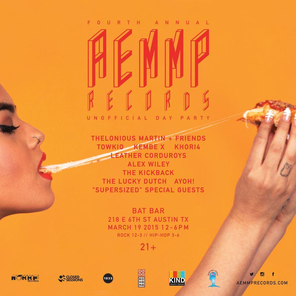 AEMMP 2015 SXSW Flyer