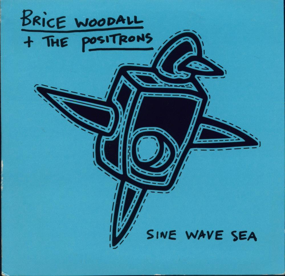 Brice Woodall and The Positrons Sine Wave Sea Album Artwork