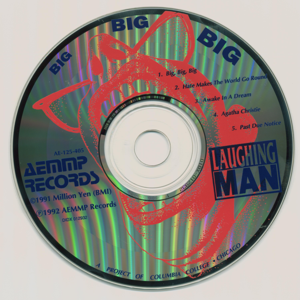 Laughing Man Big, Big, Big Album Artwork