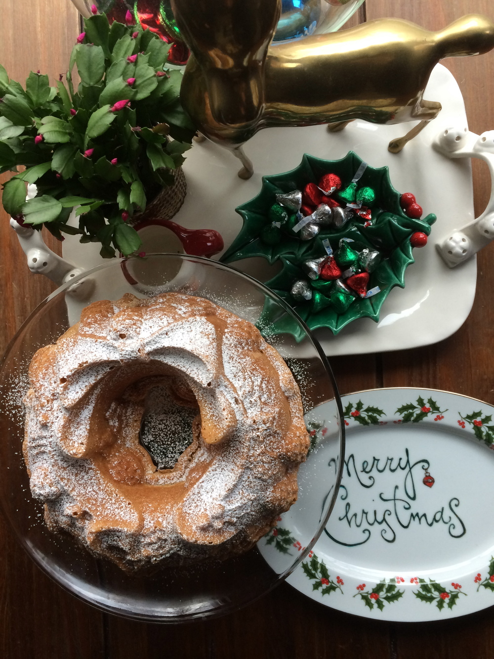 Christmas isn't Christmas without a bundt cake.