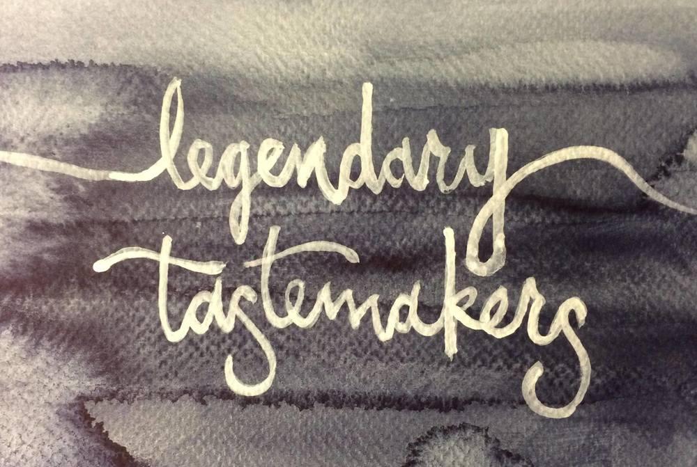 Legendary Tastemakers - Series 1, released on February 15, 2015