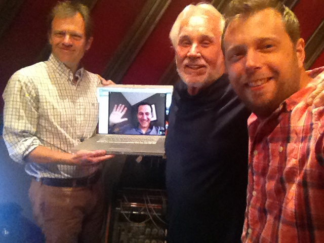 From Left to Right:  Tom Douglas ,  Jim Brickman ,  Kenny Rogers  and Steve