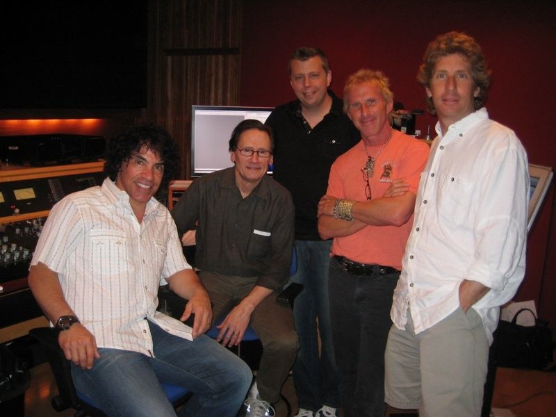 Mastering session with the legendary  Bernie Grundman  and  John Oates