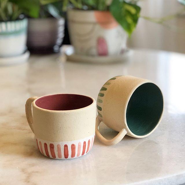 More mugs.