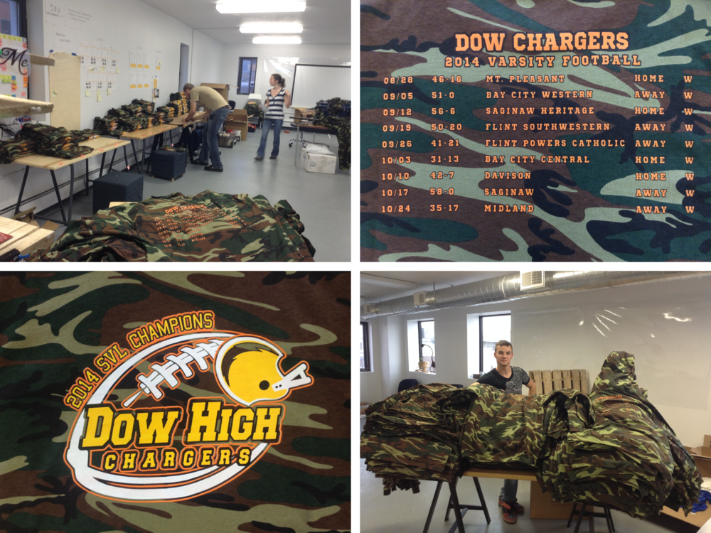 Dow High Playoff Shirts