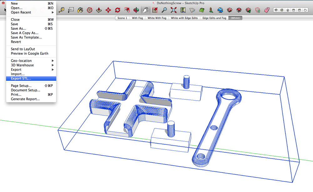 Blog feature graphics for How to import stl into sketchup
