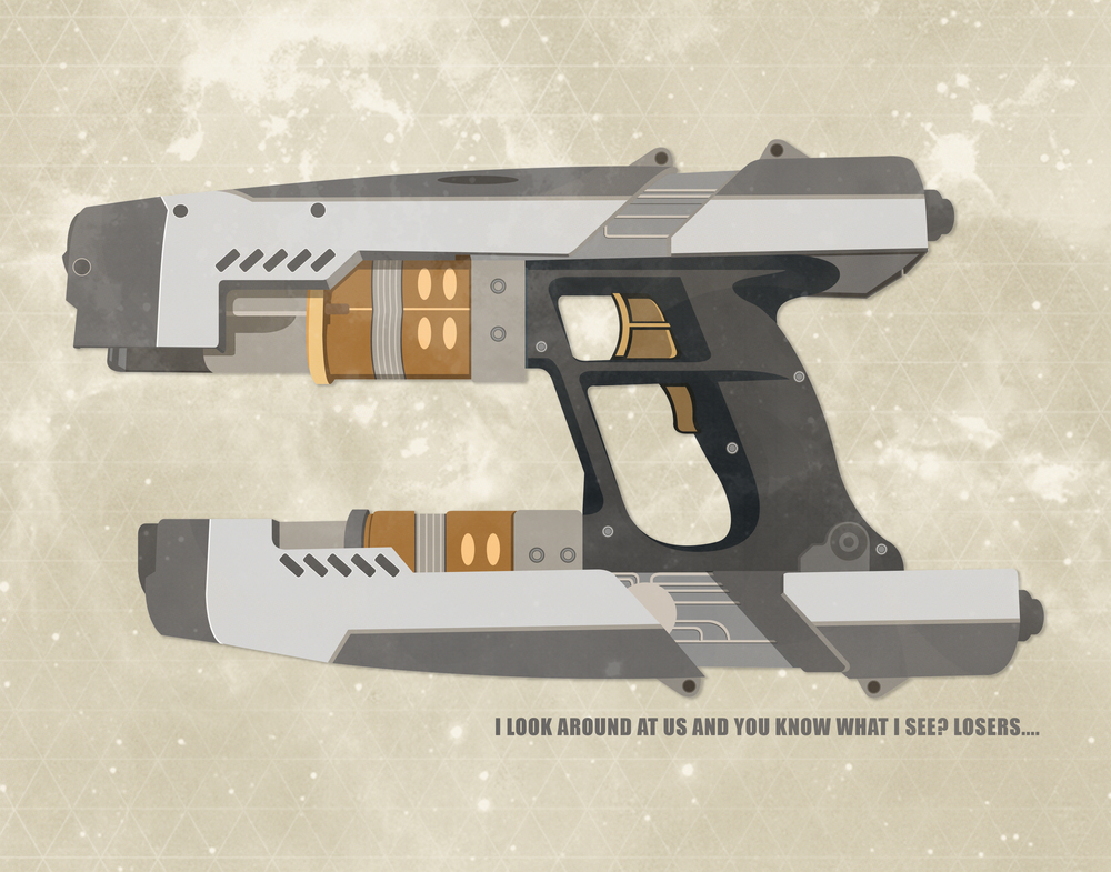 Star Lord weapon designed by myself