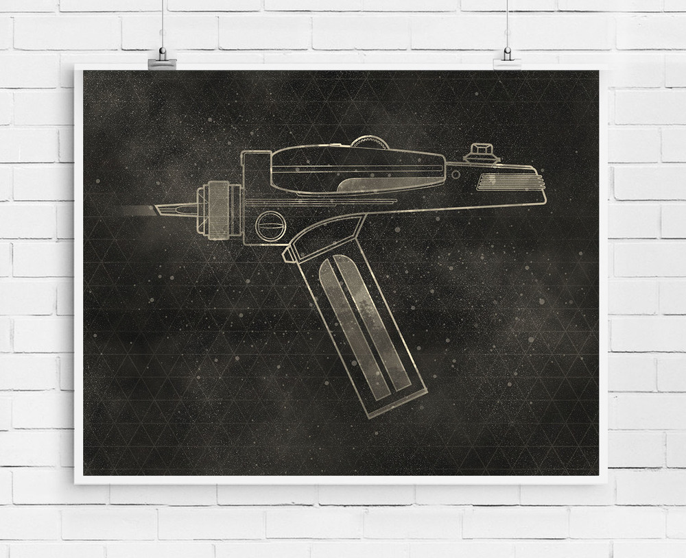 Star Trek: Phaser Gun | Buy a print HERE