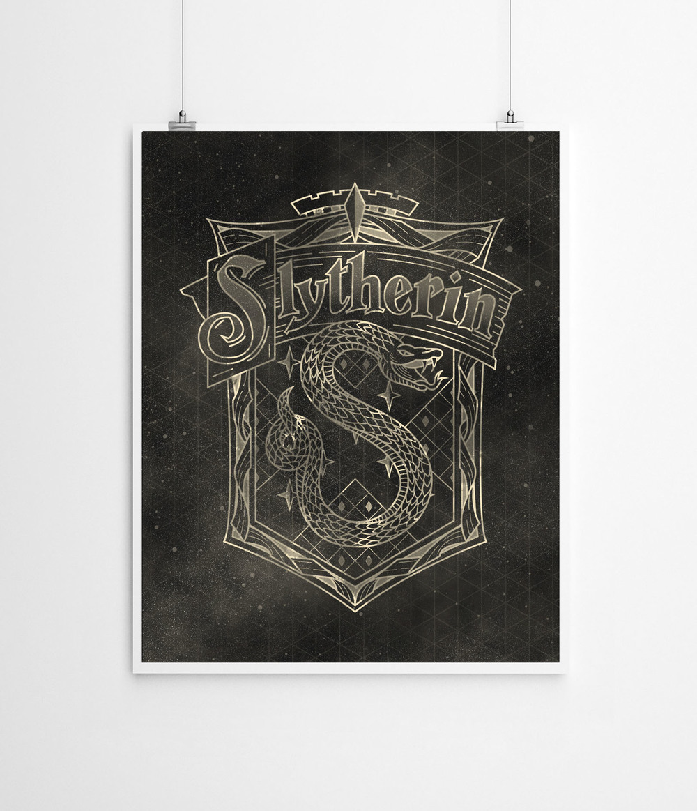Harry Potter: Slytherin House | Buy a Print  HERE