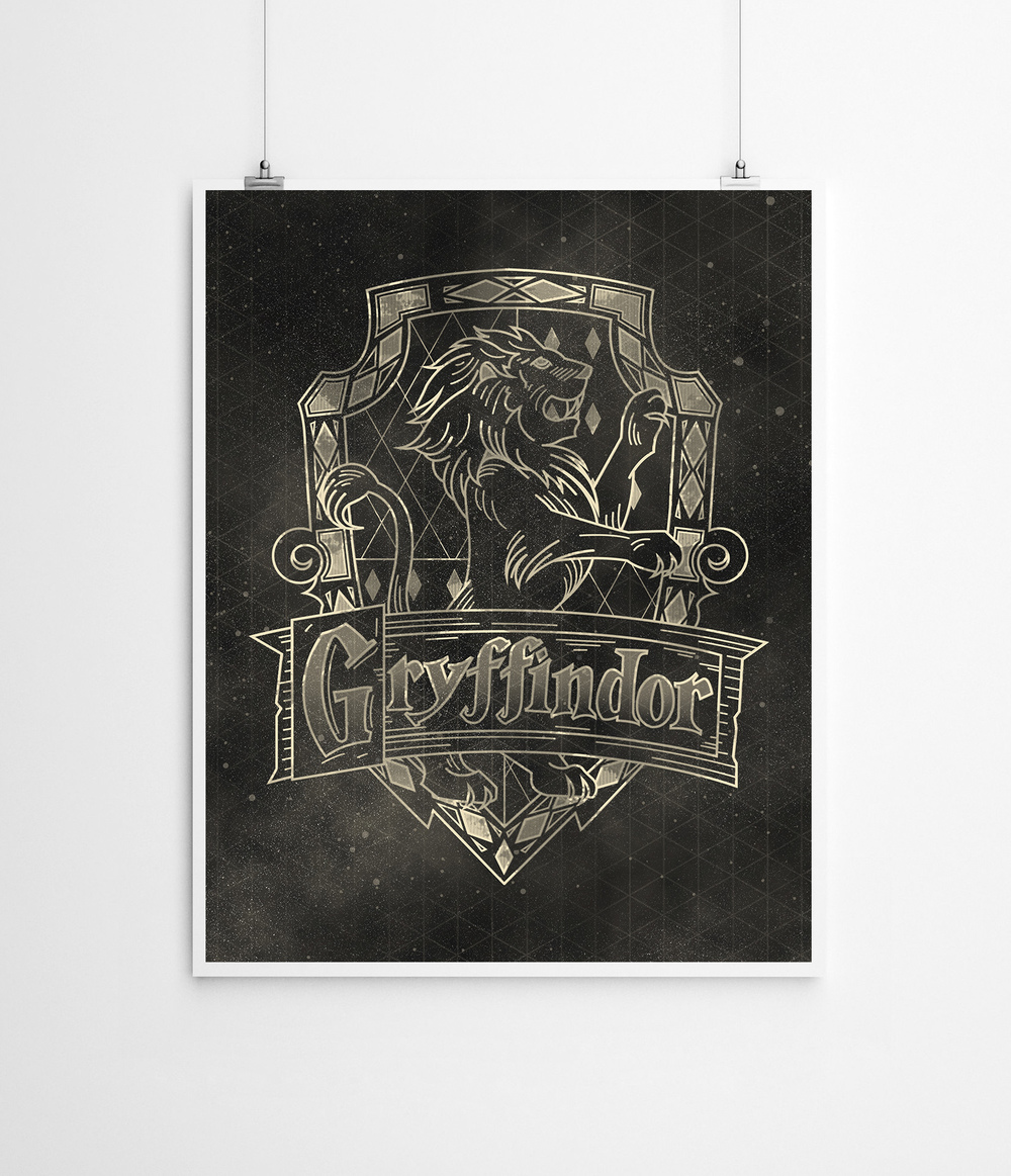 Harry Potter: Gryffindor House | Buy a Print HERE