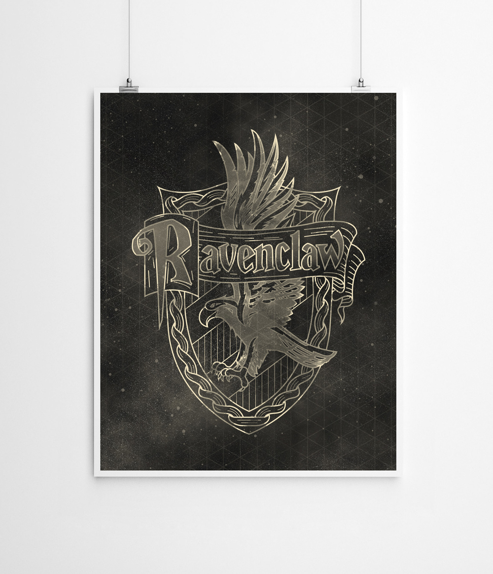 Harry Potter: Ravenclaw | Buy a Print HERE