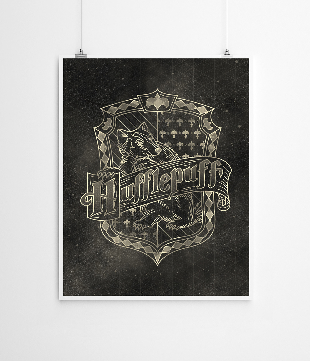 Harry Potter: Hufflepuff House | Buy a Print HERE