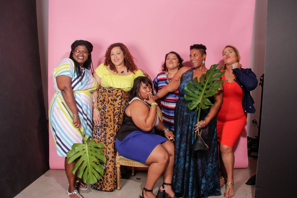 Some of my favorite ladies (from L-R) Georgette, Sandra, Darlene, Dionna, and Susie