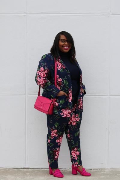 Eloquii Floral Suit