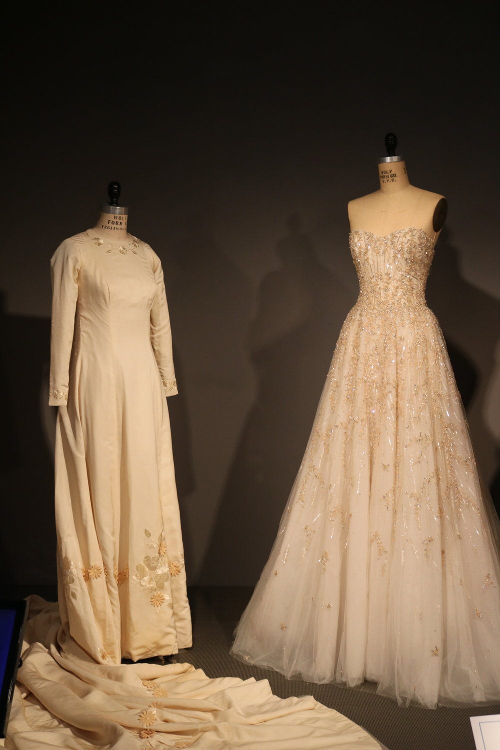 Jackie Kennedy's Wedding Dress