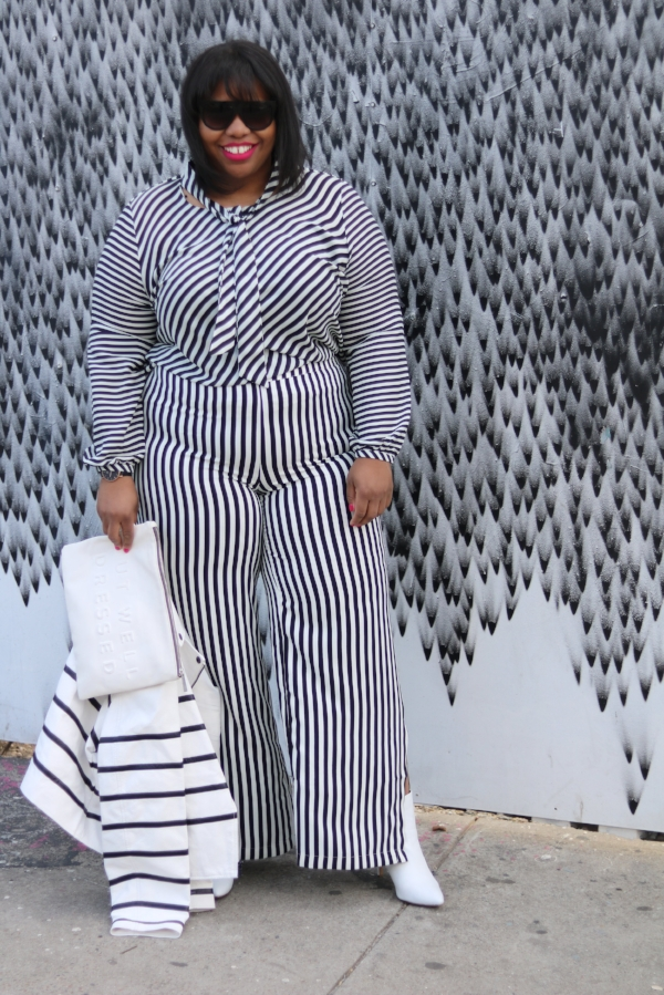 Plus Size Stripes