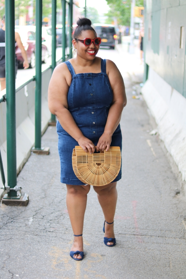 Rebel Wilson Denim Dress