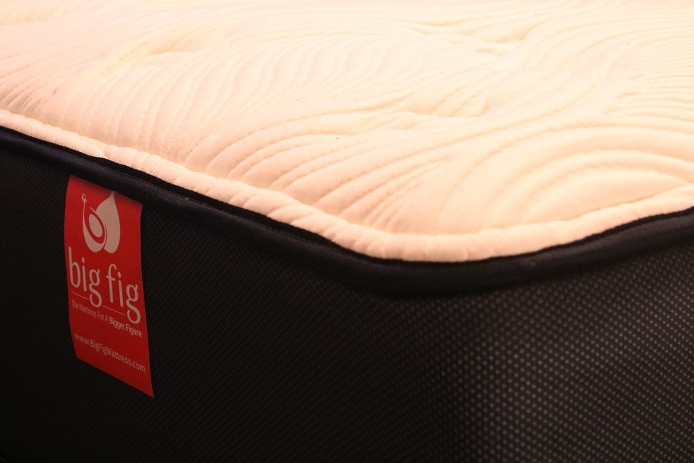 Closeup shot of the mattress…so plush