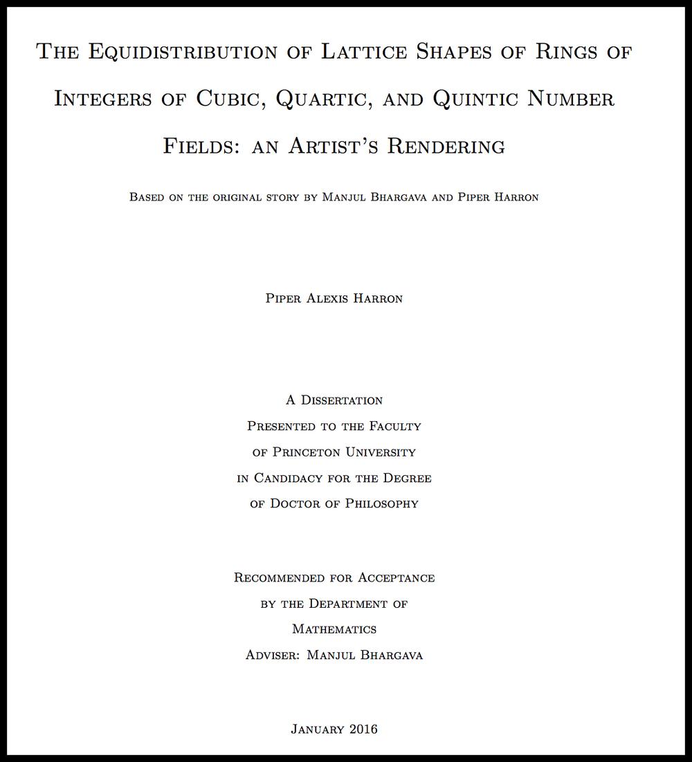 Piper Harron's thesis ( source )
