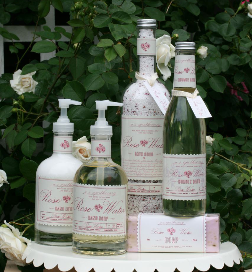 Rose Water Collection by U.S. Apothecary