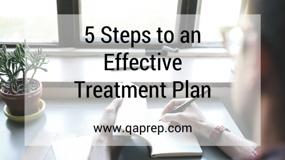 5 Steps To An Effective Treatment Plan Qa Prep