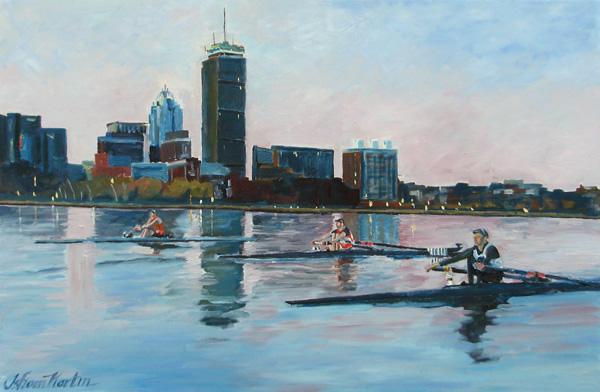 Boston at Dawn