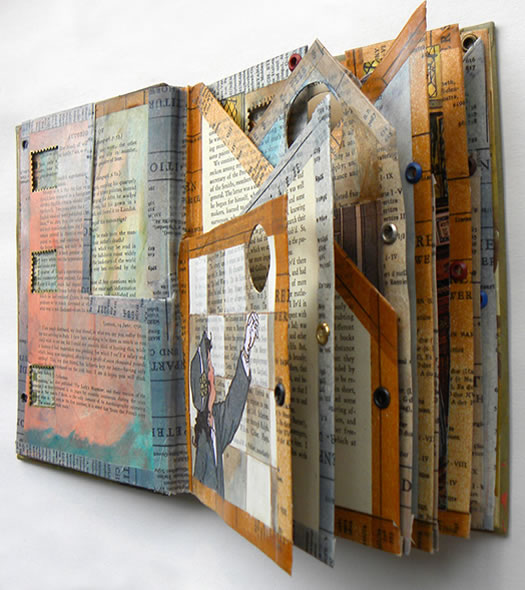 Altered book by hogret