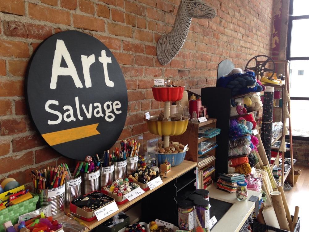 Art Salvage pop-up shop