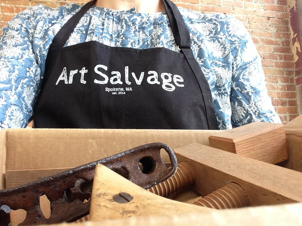 $500 Supports the mission of Art Salvage and contributes to the cost of opening a bigger store front in Spokane.