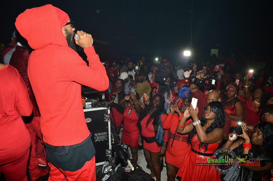 SPRAGGA PERFORMING @ EVERYTHING RED OUT 2014