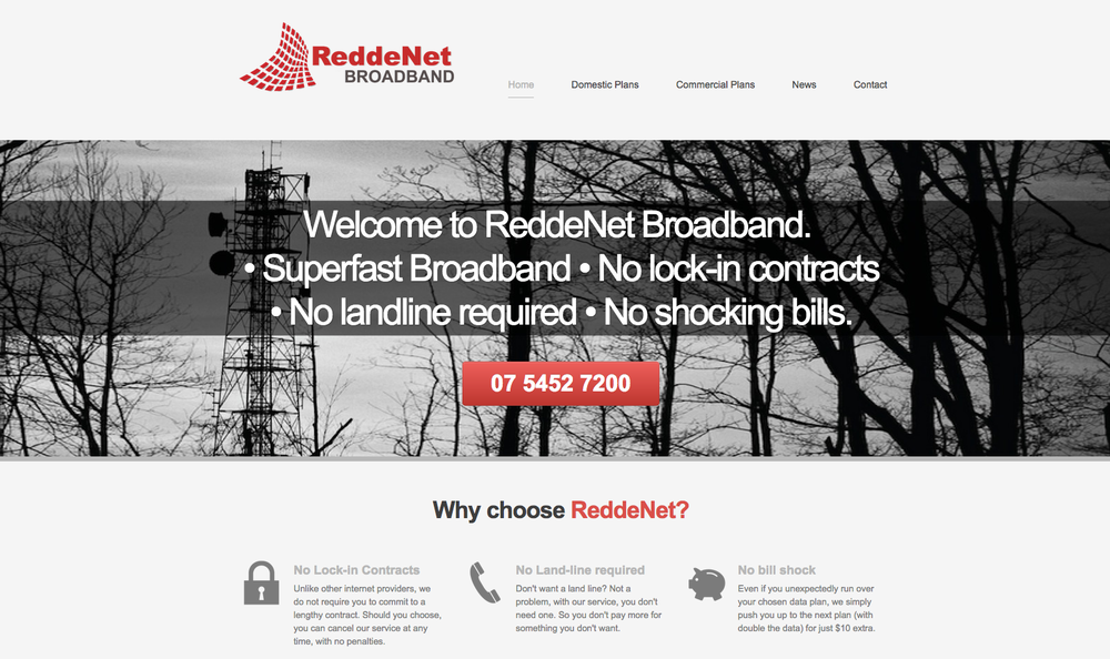 reddenet web design