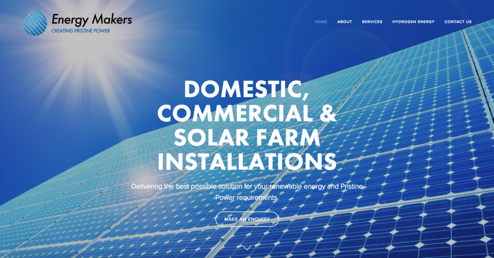 EnergyMakers Solar & Hydrogen Installations