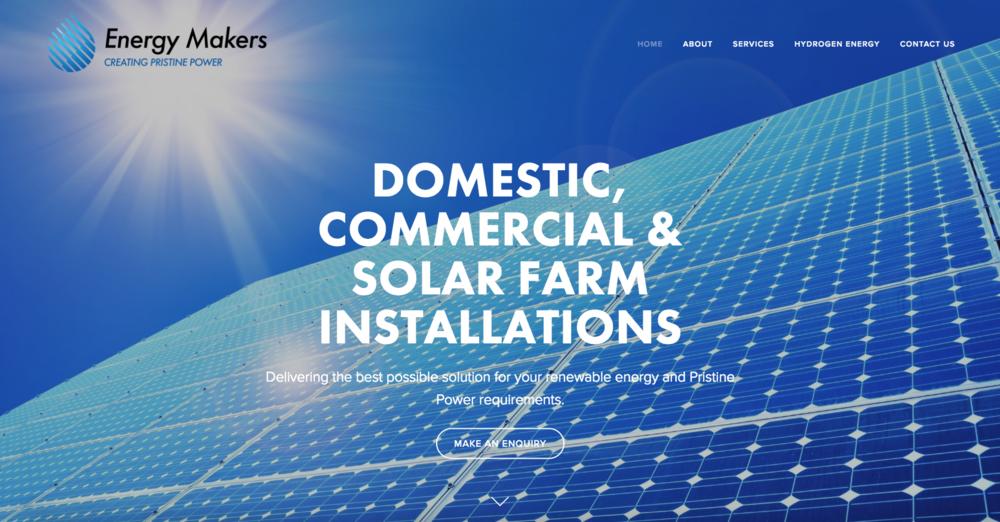 EnergyMakers Solar & Hydrogen Installations