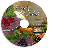 raw desserts and salads DVD
