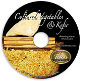 Cultured Veggies/ Kefir Kitchen DVD