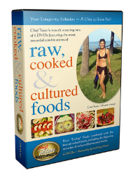 Raw Cooked and Cultured Foods