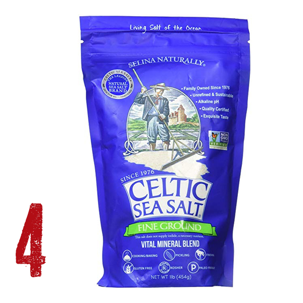 "Celtic Sea Salt - This is the #1 best condiment ever. Why? Because it is mineral rich and tastes the best. This is truly the best way to make every bite count. Use it the ""A la Salt"" way."