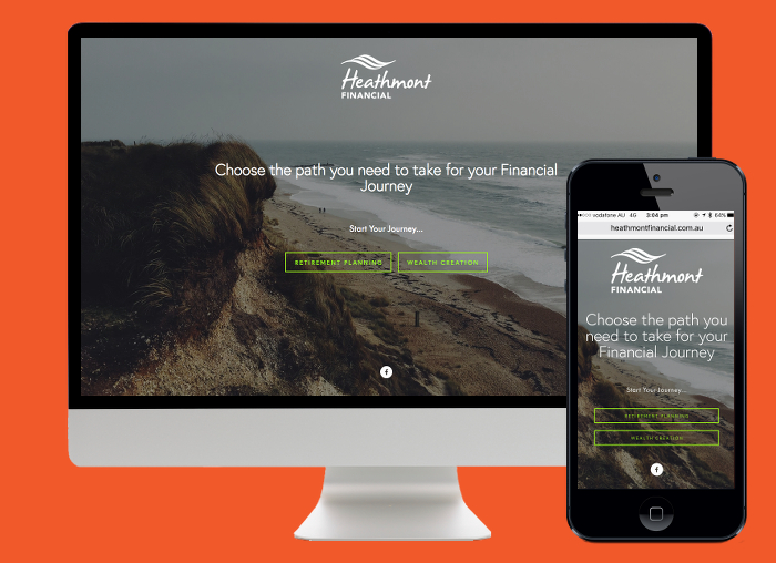 Heathmont wanted to direct their visitors down the right path, so a Squarespace landing page was perfect option.