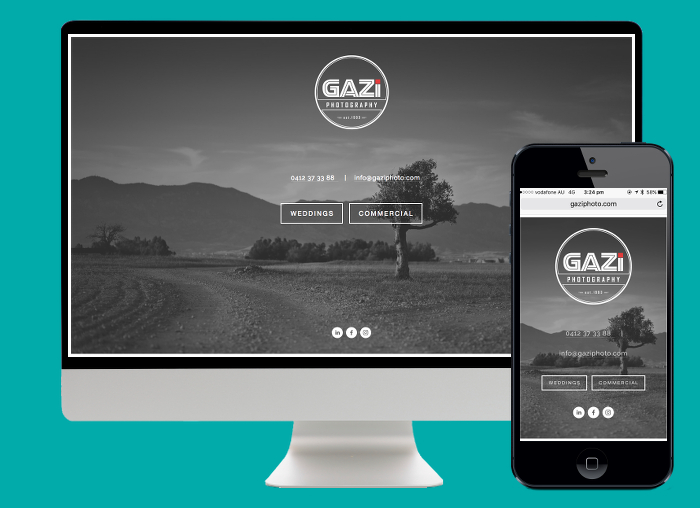 With over 2000 photos, Gazi Photography needed the unlimited storage space of Squarespace and its excellent funcionality.