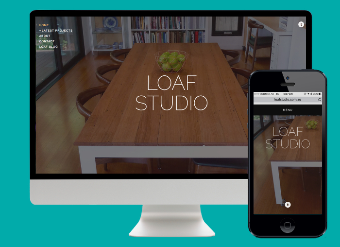 Using Squarespace we built a basic yet beautiful portfolio site to display LOAF Studios latest projects.