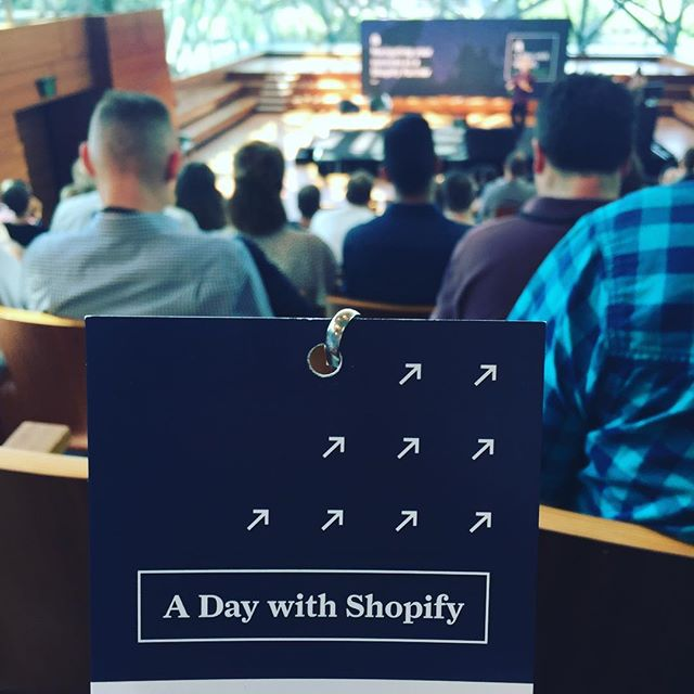 Spending the day with Shopify today. Great to have this great event in our hometown! @shopifypartners @shopify #adws #adaywithshopify #shopify #ecommerce #online #insidermedia