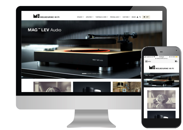 Melbourne Hi Fi - With an already established bricks and mortar store, it was time for Melbourne HiFi to update their online offering to compete in an ever evolving marketplace.Built on: Shopify