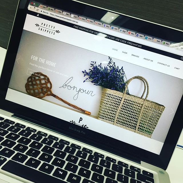 @prettysnippets is a lovely new website for anyone who has kids and or those who don't, but like a bit of vintage. Take a look, we loved working on the site and you'll love shopping on it! #webdesign #shopify #ecommerce #onlineshopping #insidermedia #vintage