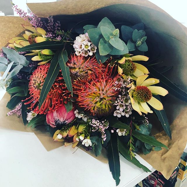Thank you @katiesbeautykitchen for the beautiful flowers (and all the other amazing gifts) that are brightening up the office today!